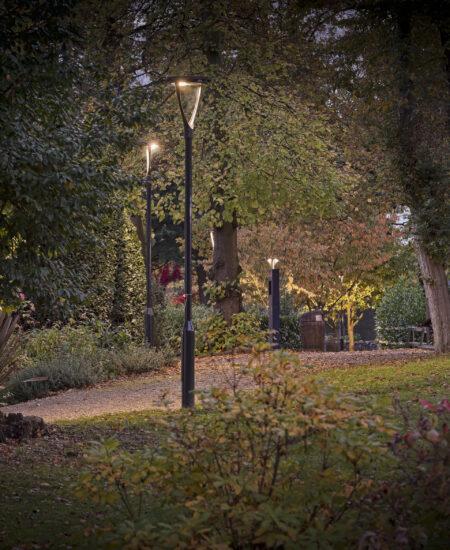 Illuminazione urbana a LED lampione di design ECORAYS - AEC Illuminazione