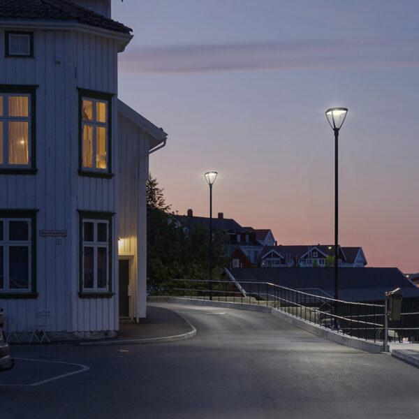 Lanterna LED per illuminazione urbana
