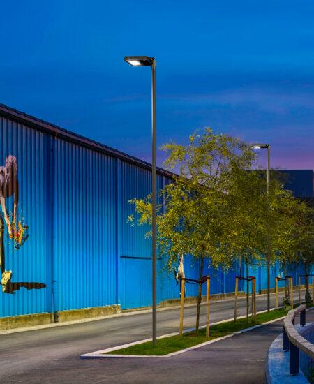 Lampione a LED per illuminazione stradale e urbana a LED