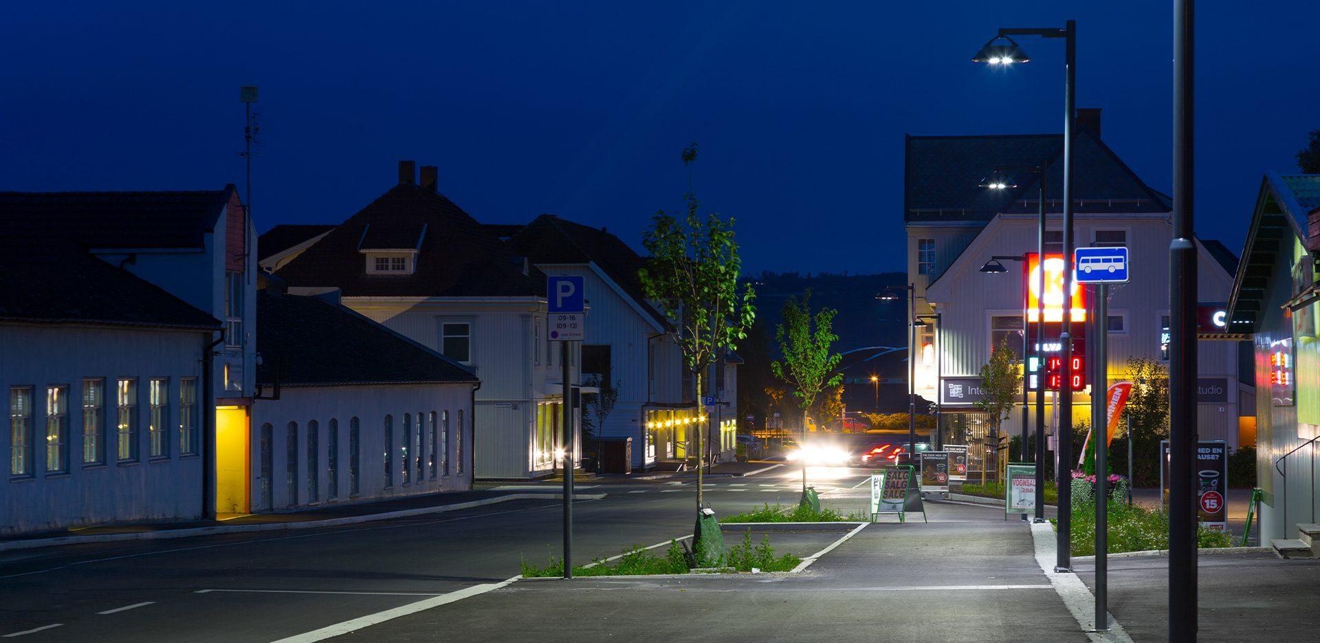 Illuminazione urbana LED strade residenziali con DELOS - AEC Illuminazione