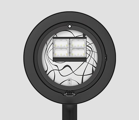 DELOS 2 lampione illuminazione LED urbana - AEC Illuminazione
