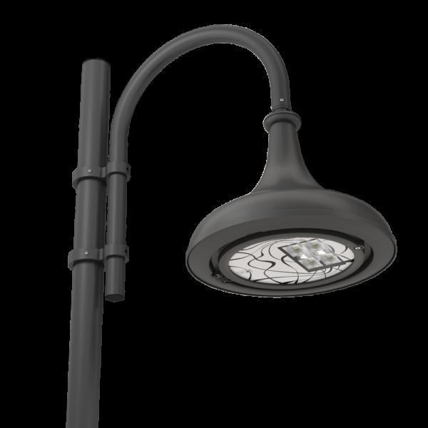 Lampione led illuminazione stradale e urbana Goblet.