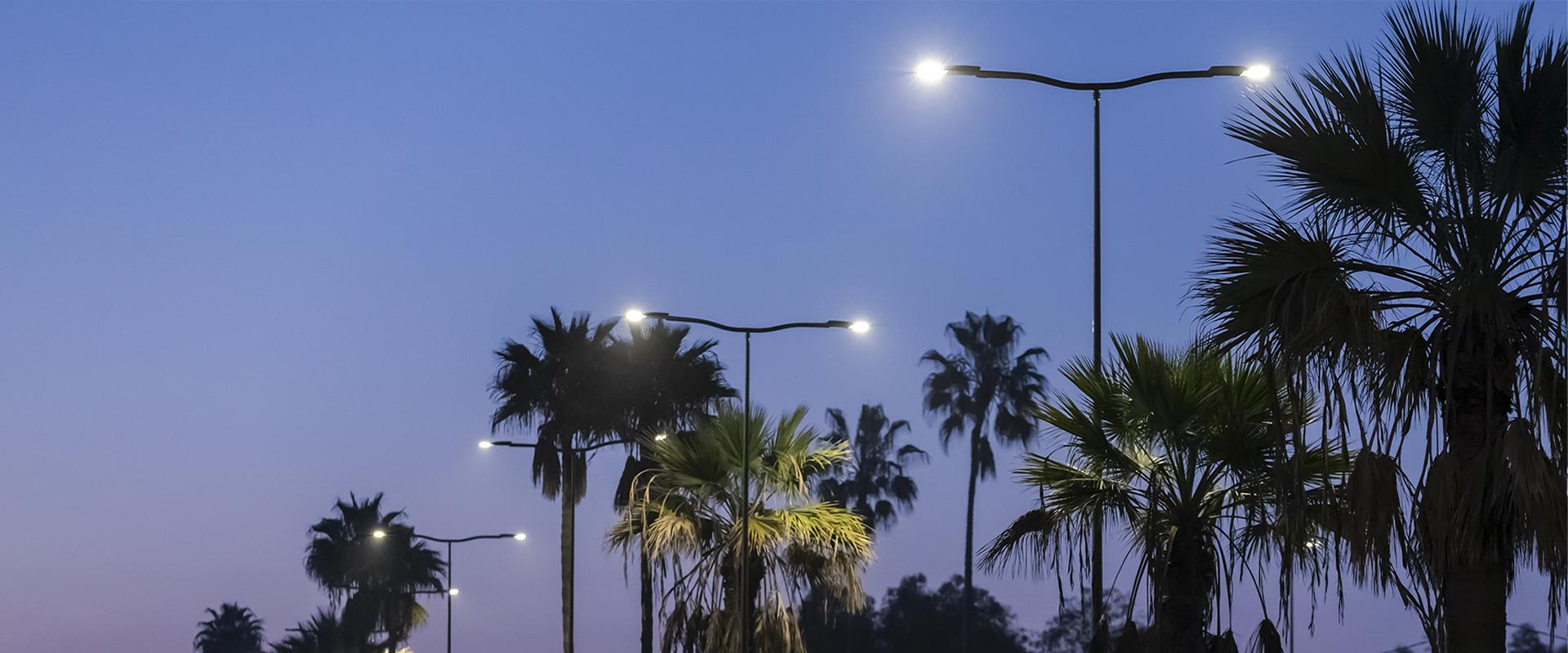 Illuminazione urbana a LED
