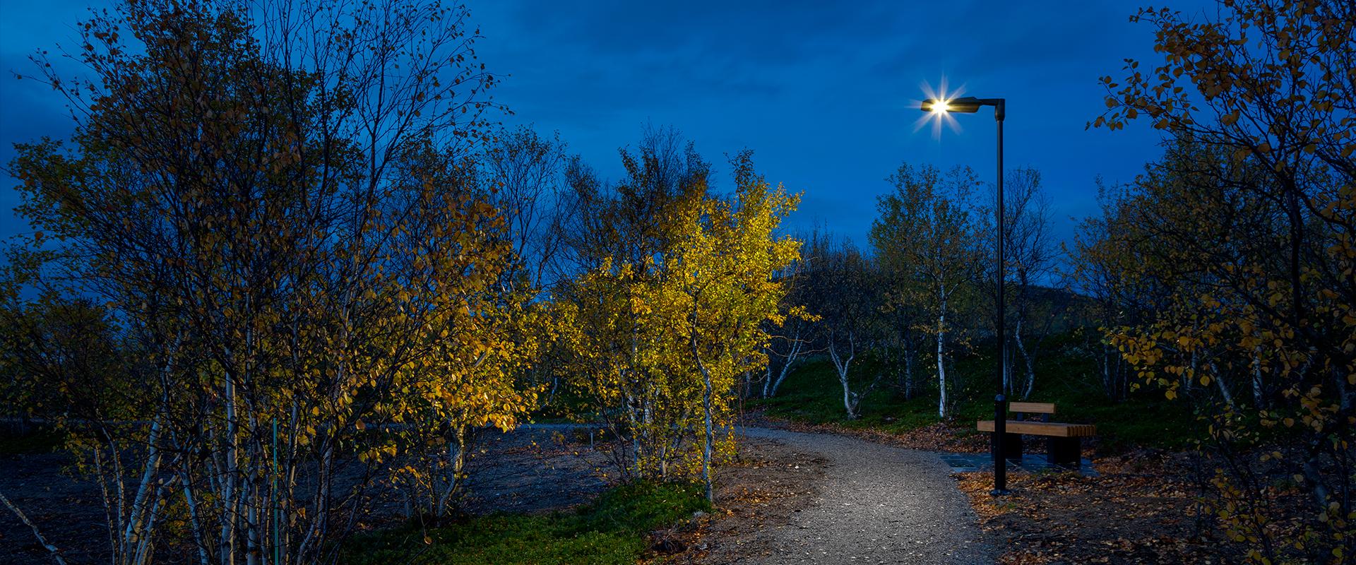Lampione illuminazione pubblica a led