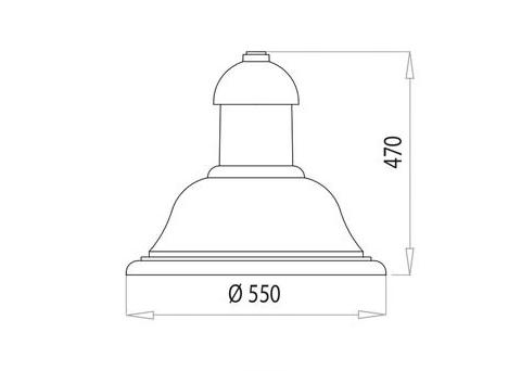 Revelampe LR55 - fino a quatto moduli
