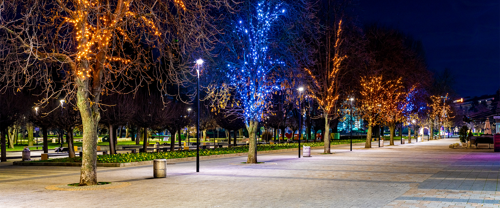 Lampione a LED per illuminazione pubblica