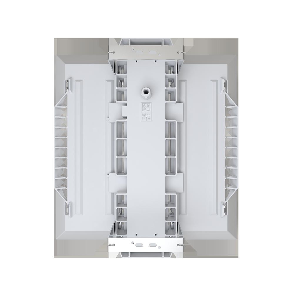 Apparecchio per illuminazione led di capannoni industriali