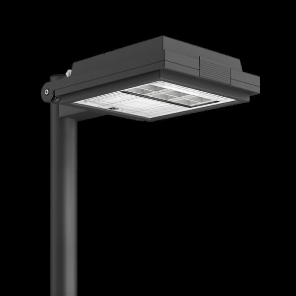 Lampione a led per arredo urbano Q Quadro di AEC Illuminazione