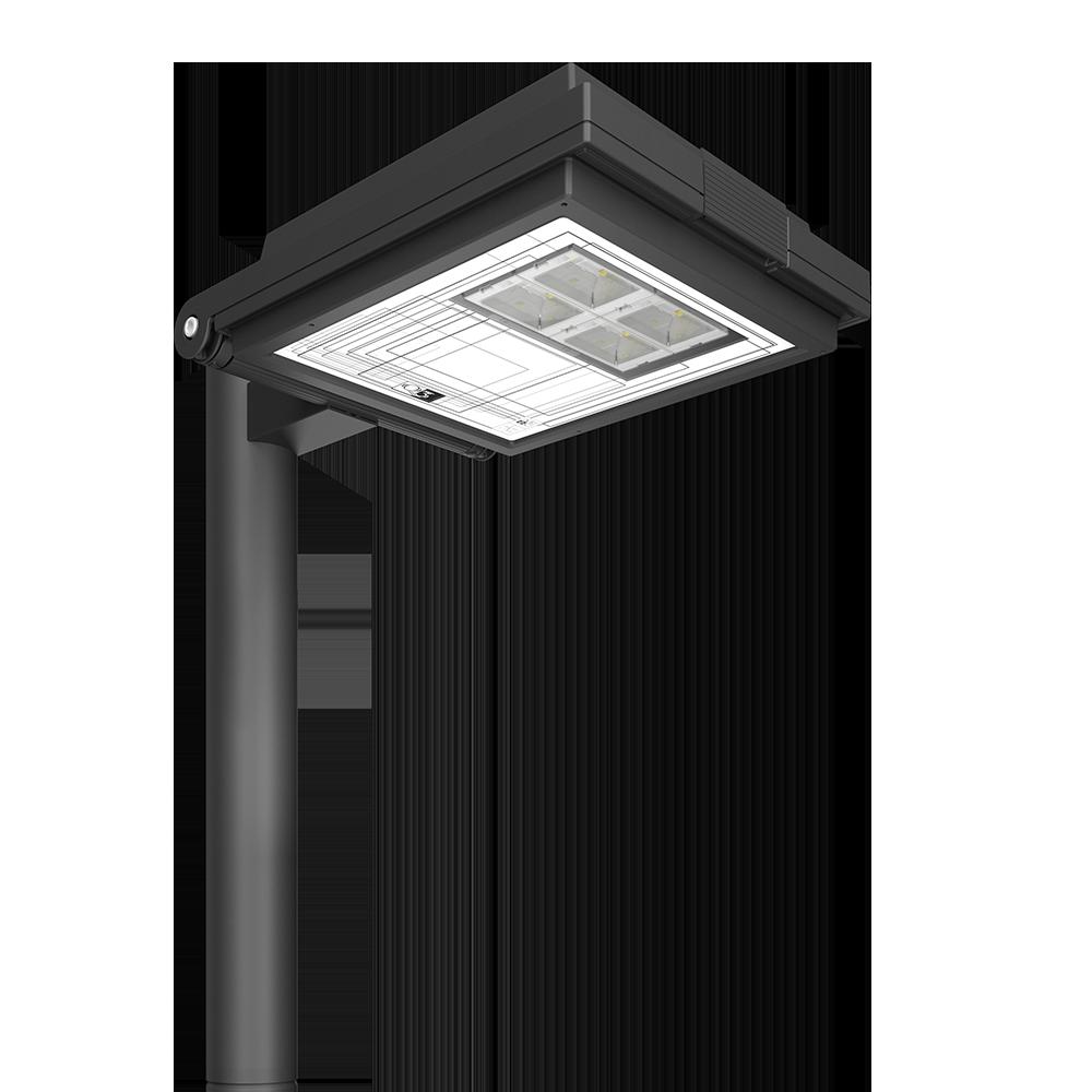 Lampione urbano a led in acciaio by AEC Illuminazione