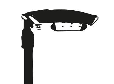 Disegno lampione made in italy