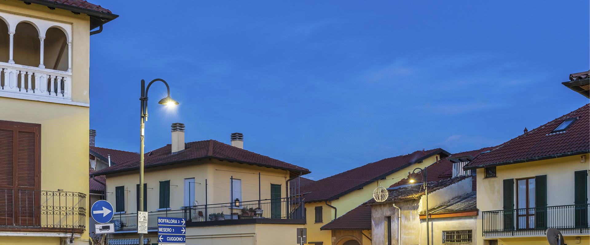 Lampione per illuminazione pubblica a LED
