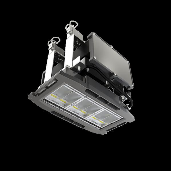 Faro per illuminazione a LED di gallerie