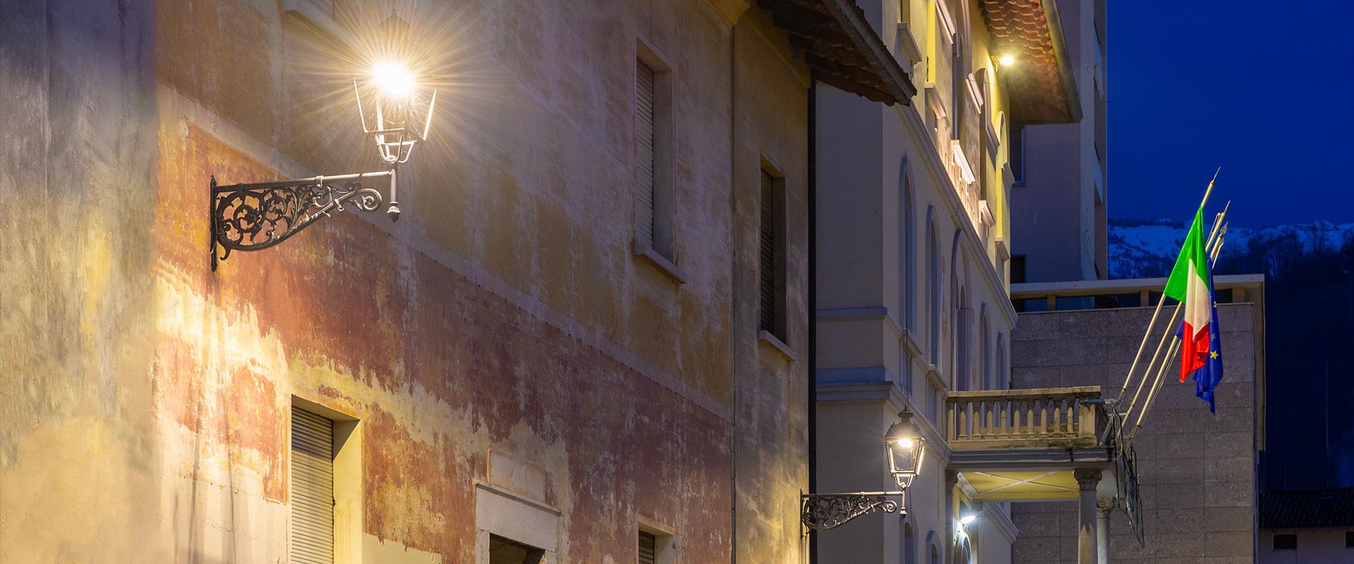Lanterna led per illuminazione pubblica
