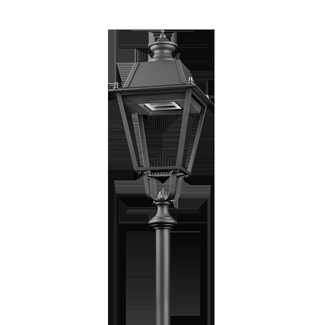 Lanterna per illuminazione pubblica a LED