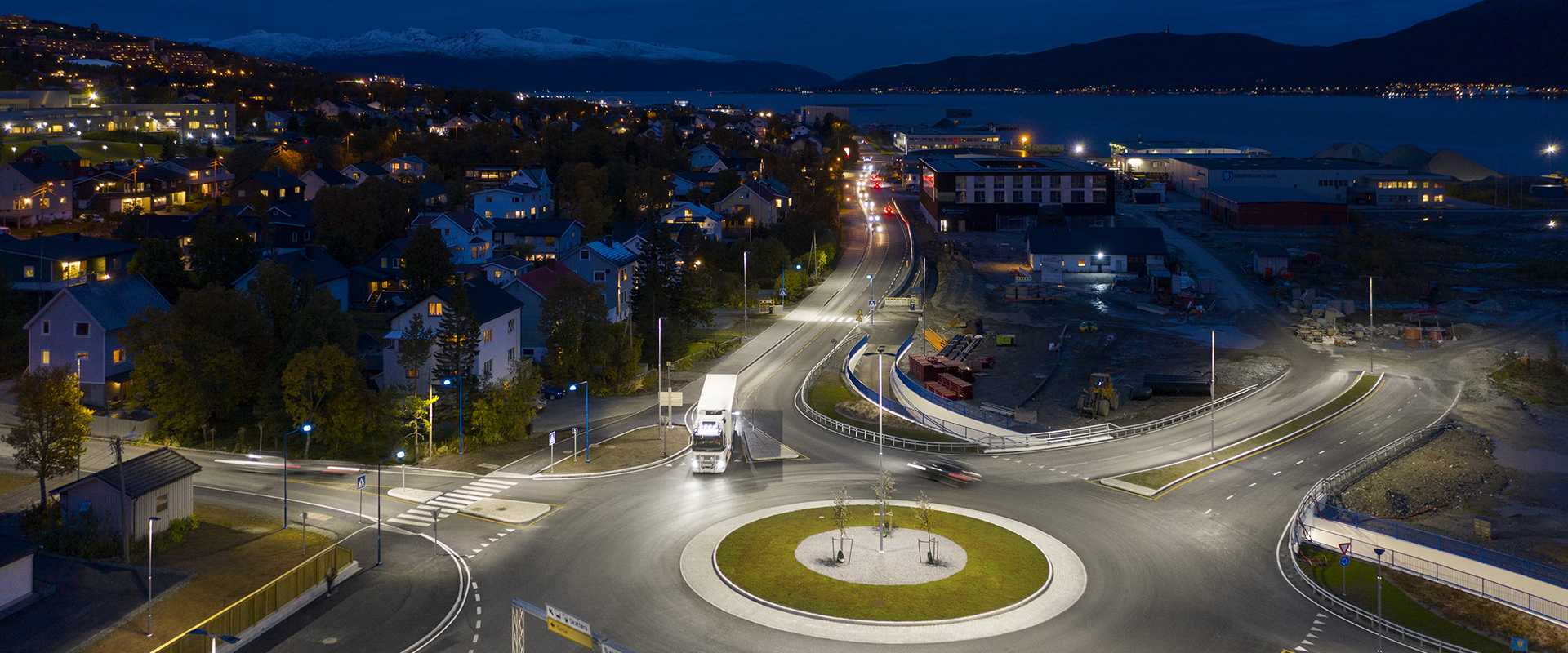 Illuminazione LED di Tromsø