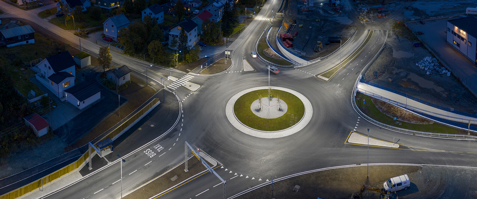 Illuminazione stradale LED di Tromsø