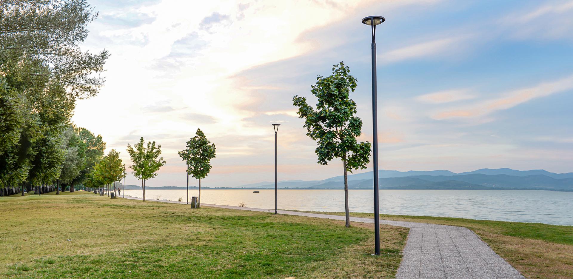 Lampione urbano a LED