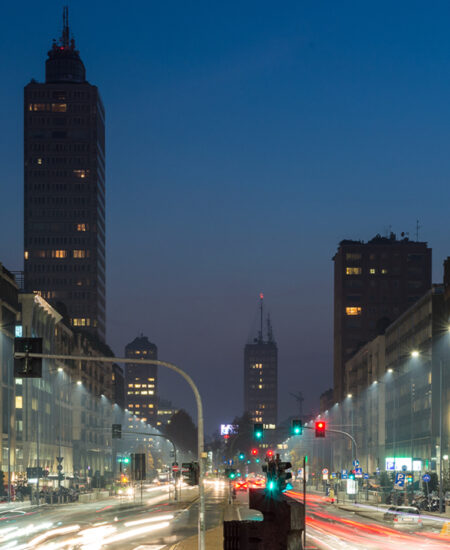 Lampione stradale a LED