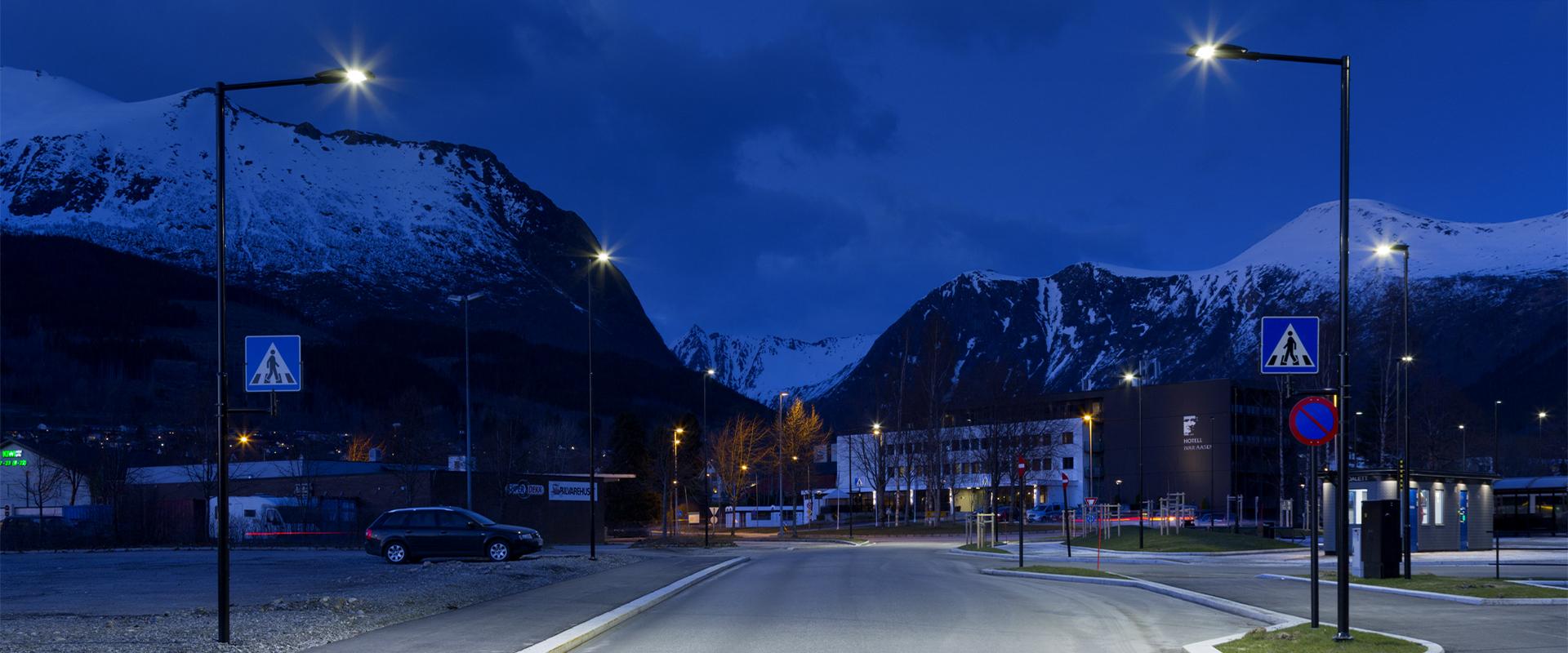 Corpo illuminante a LED urbano