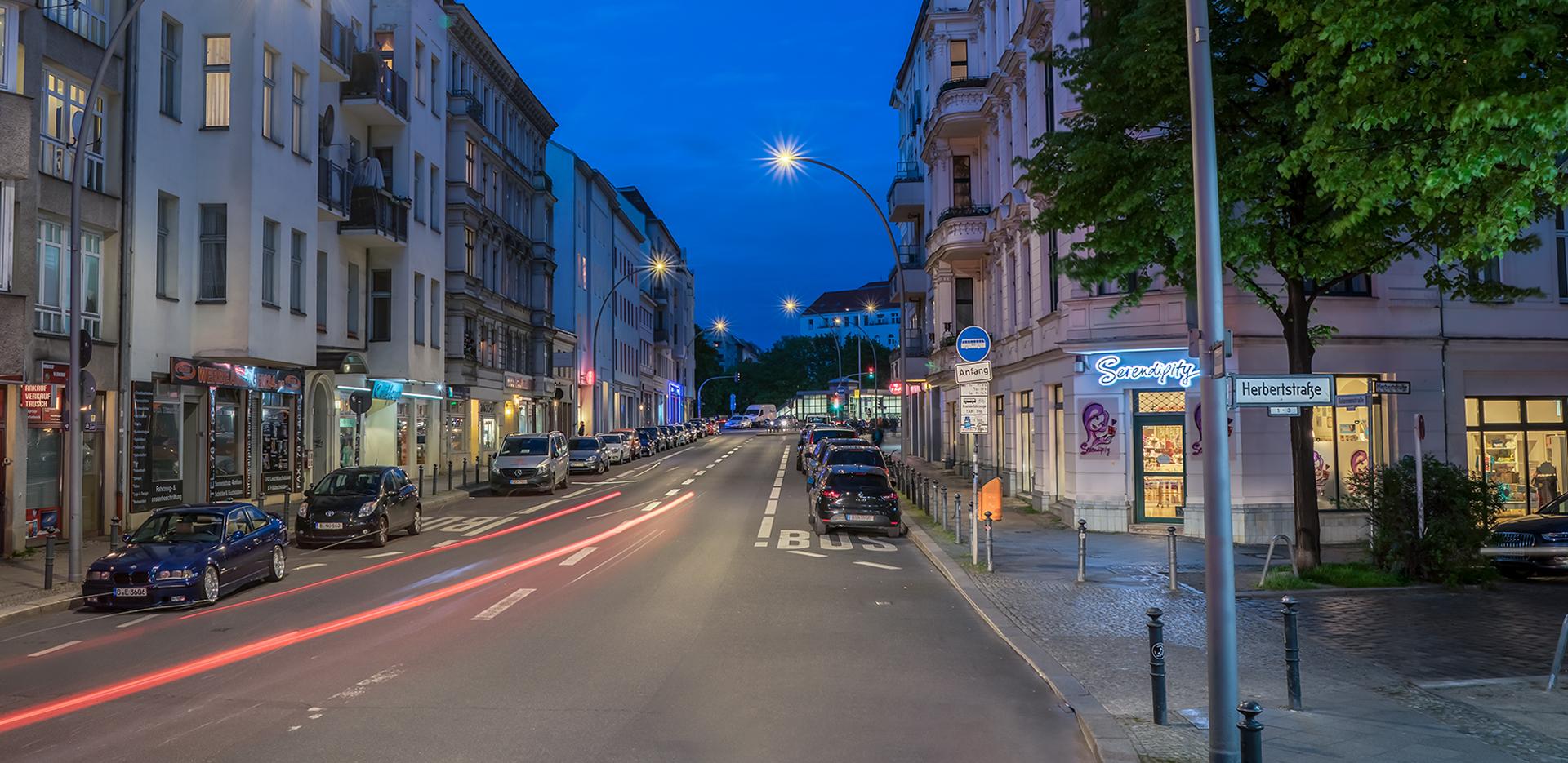 Illuminazione stradale LED di Berlino