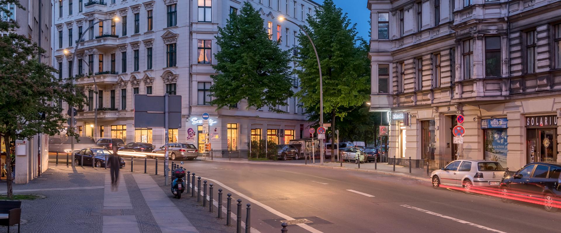 Illuminazione strade di Berlino
