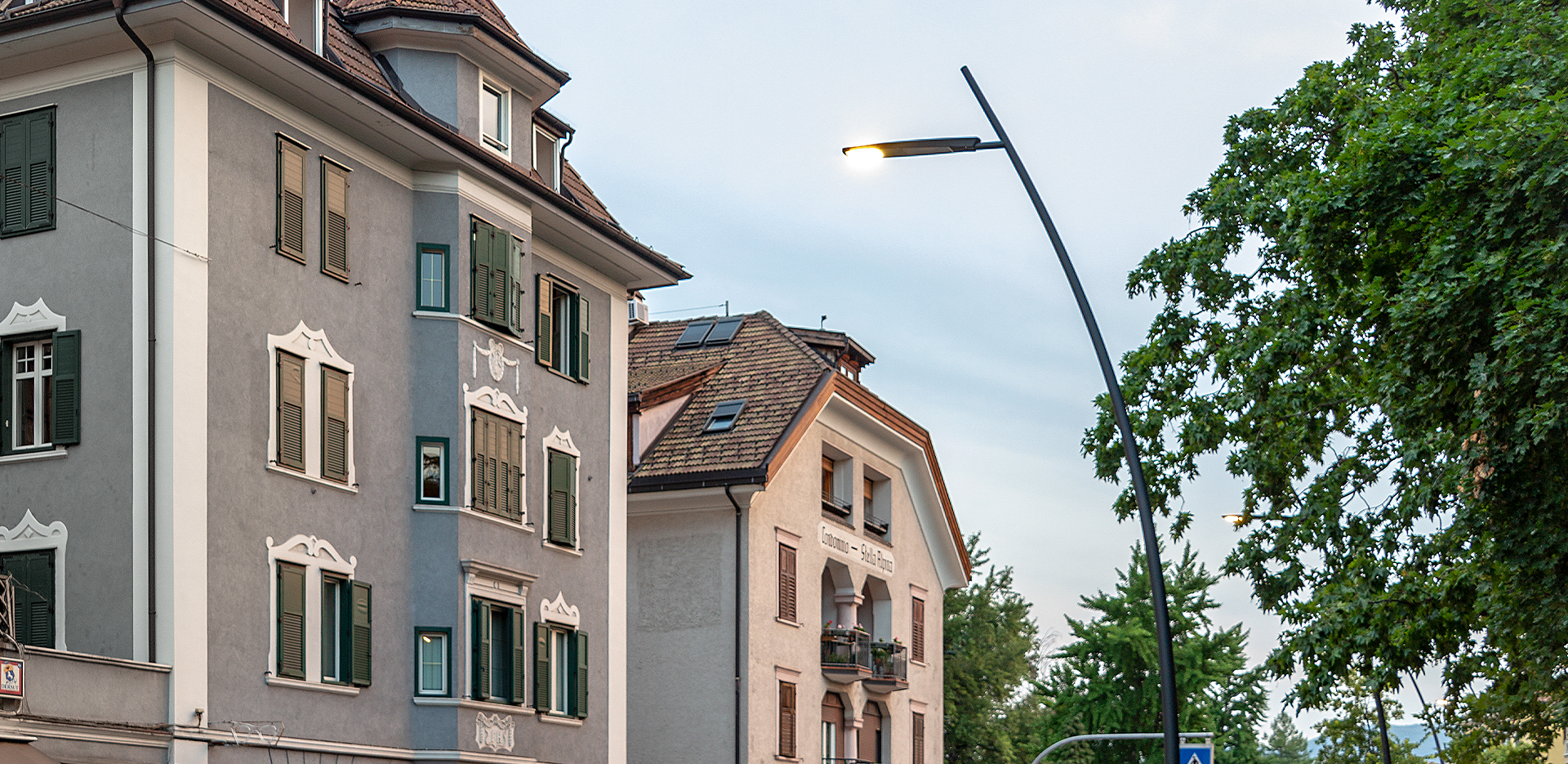 Illuminazione LED strade di Bolzano