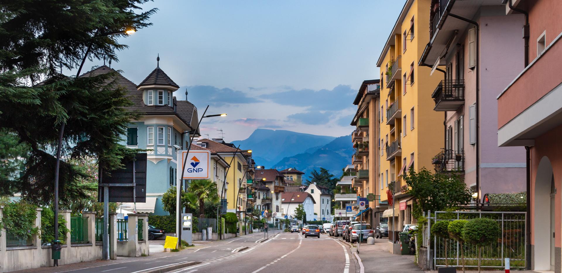 Illuminazione stradale LED di Bolzano