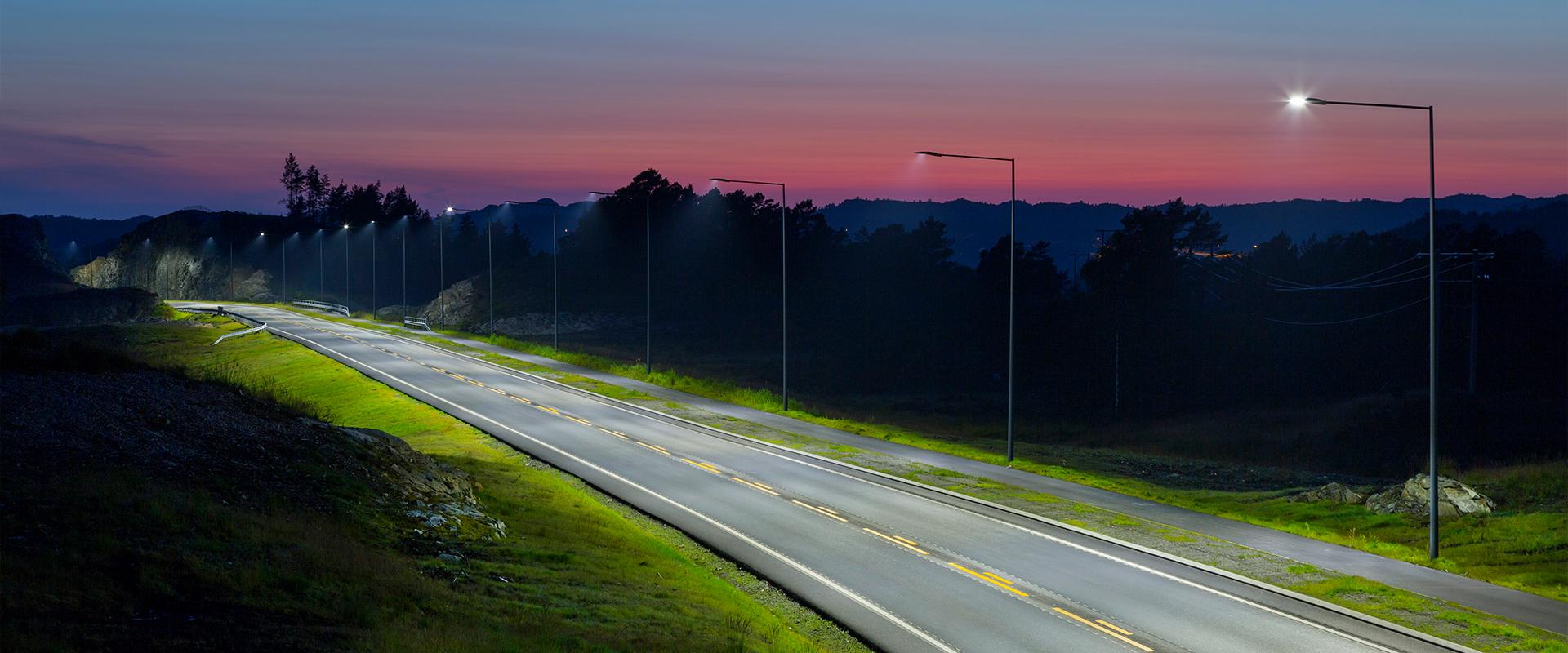 Armatura stradale a LED
