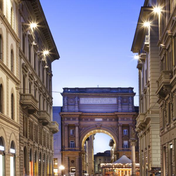 Faro a led da esterno per illuminazione architetturale