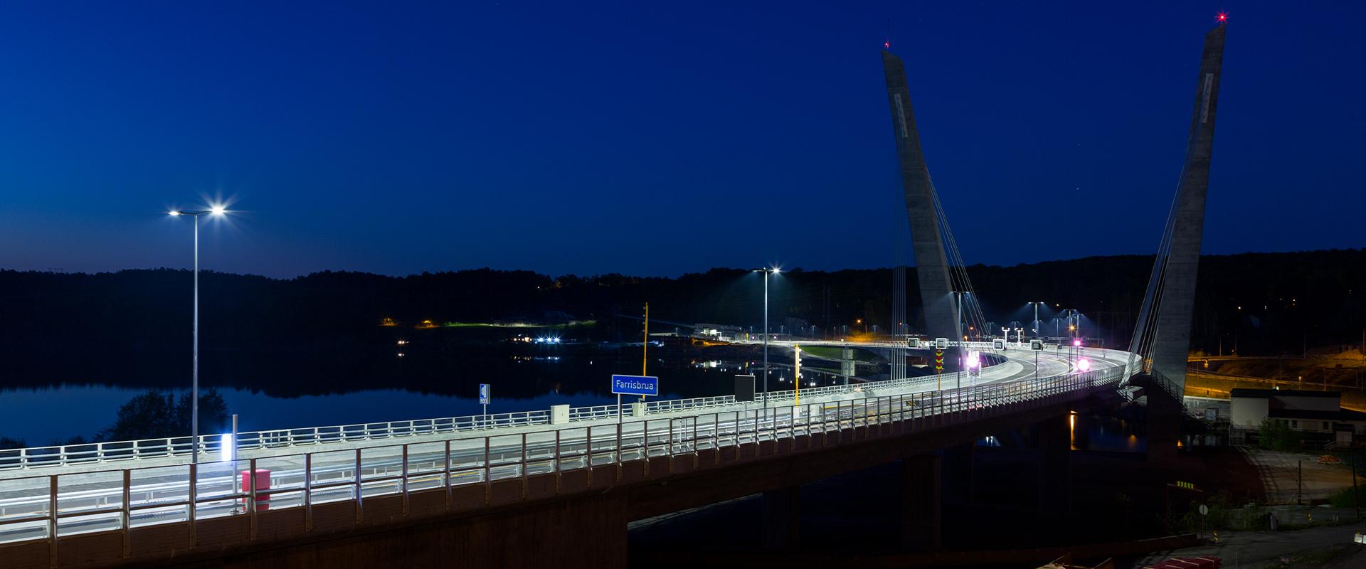 Illuminazione LED di Farrisbrua