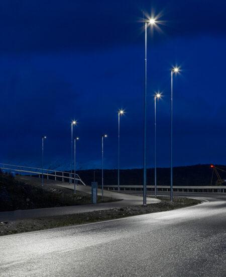 Illuminazione pubblica LED di Tromsø