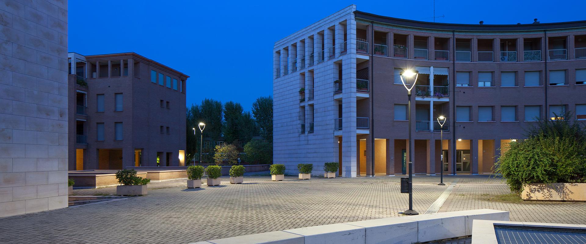 Illuminazione pubblica a LED della città di Modena