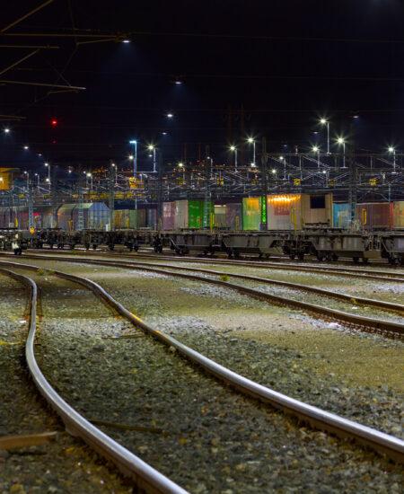 Illuminazione LED ferrovie e terminal