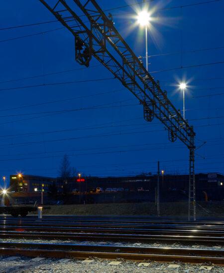 Illuminazione LED per stazioni ferroviarie