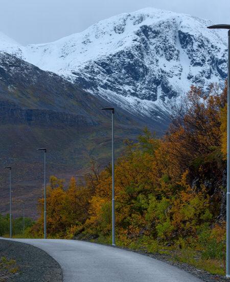 Illuminazione LED di Skjervoy