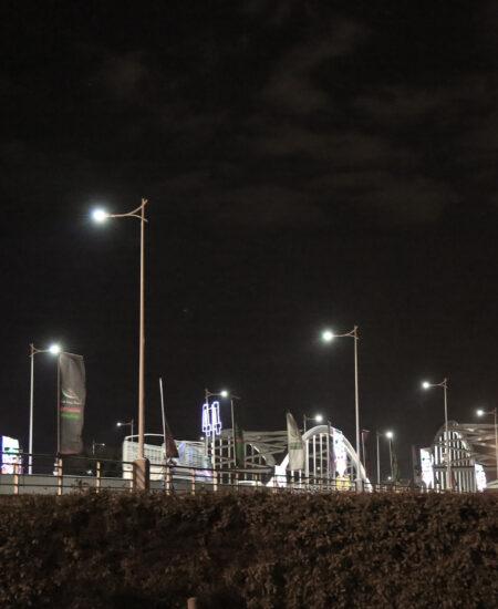 Illuminazione LED di Yas Marina
