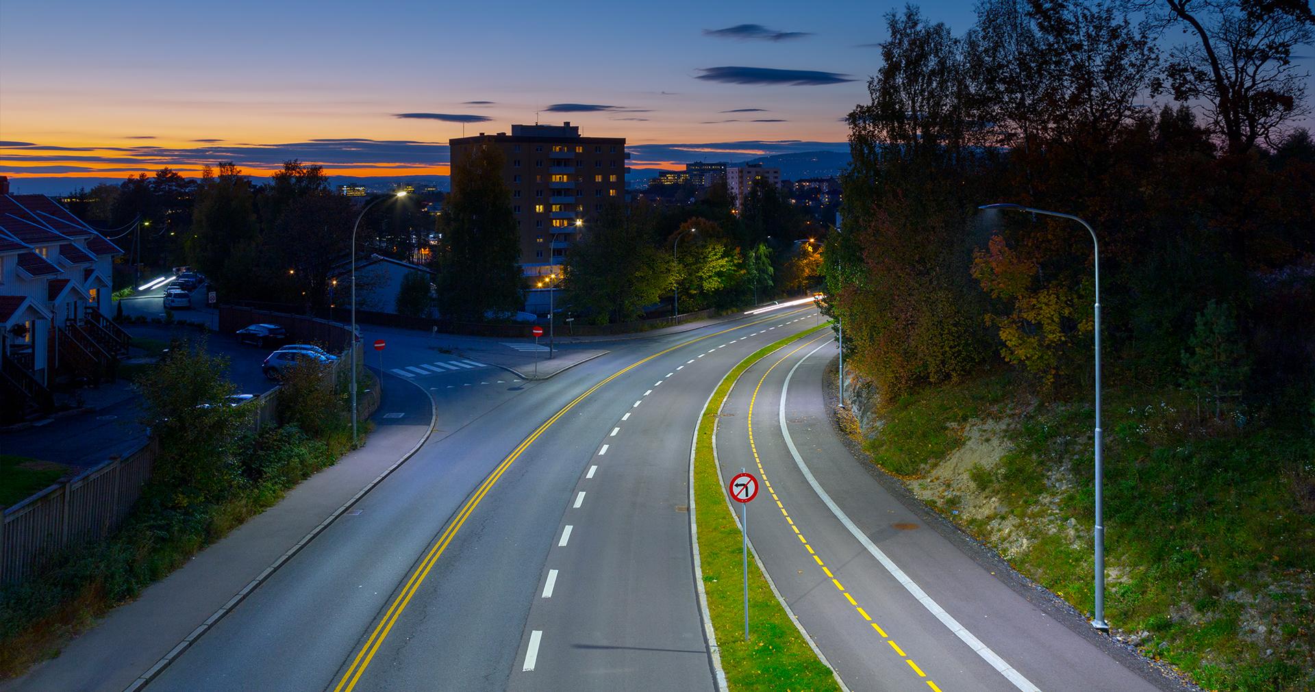 Lampione stradale LED