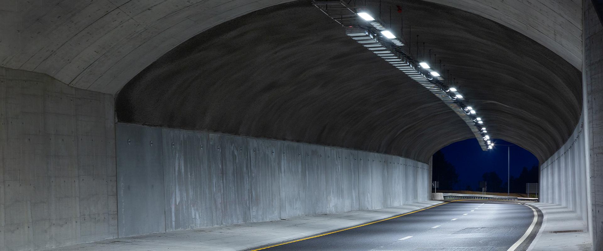 Fari a LED per tunnel