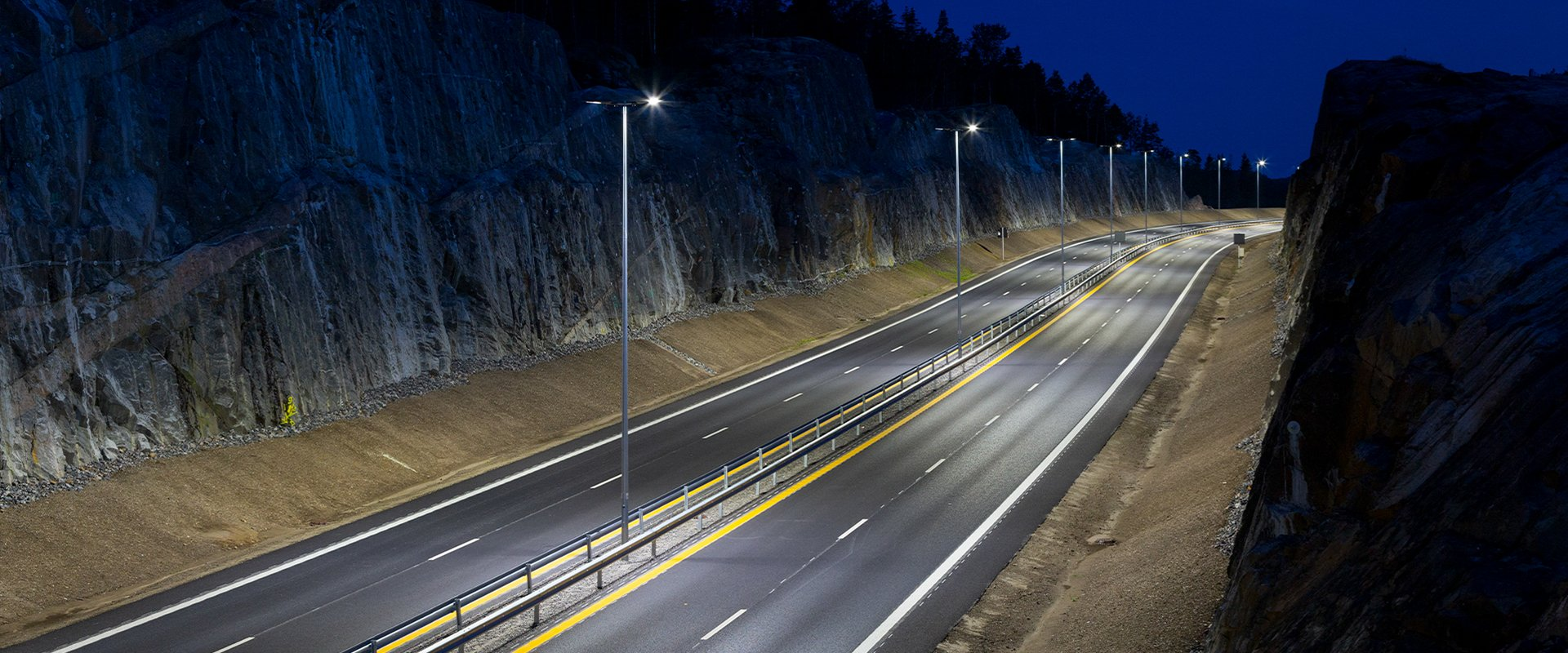 Lampioni per illuminazione a LED