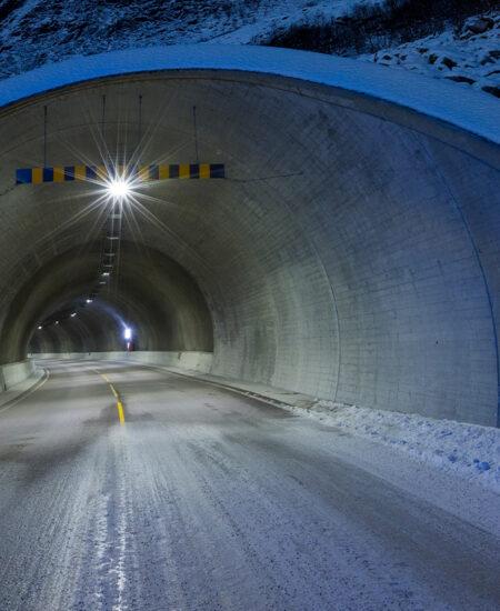 Illuminazione tunnel a LED