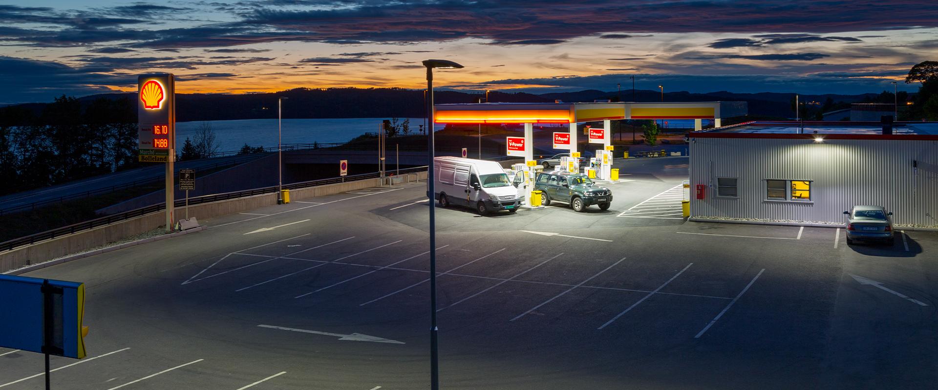 Lampione stradale per illuminazione pubblica LED