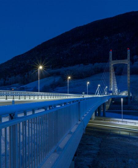 Armature stradali LED