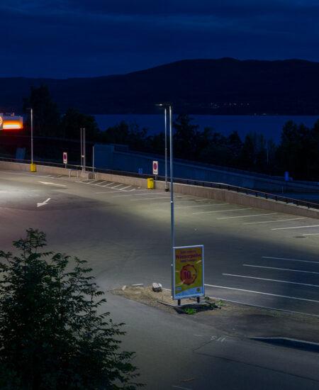 Illuminazione parcheggi a LED