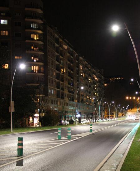 Illuminazione stradale LED di San Sebastiàn