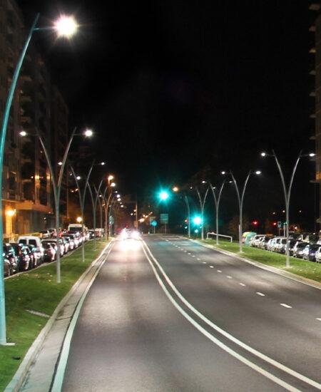 Illuminazione LED stradale di San Sebastiàn