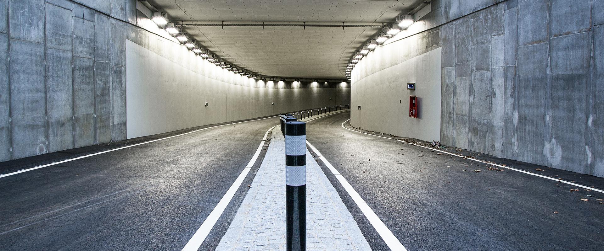 Illuminazione tunnel