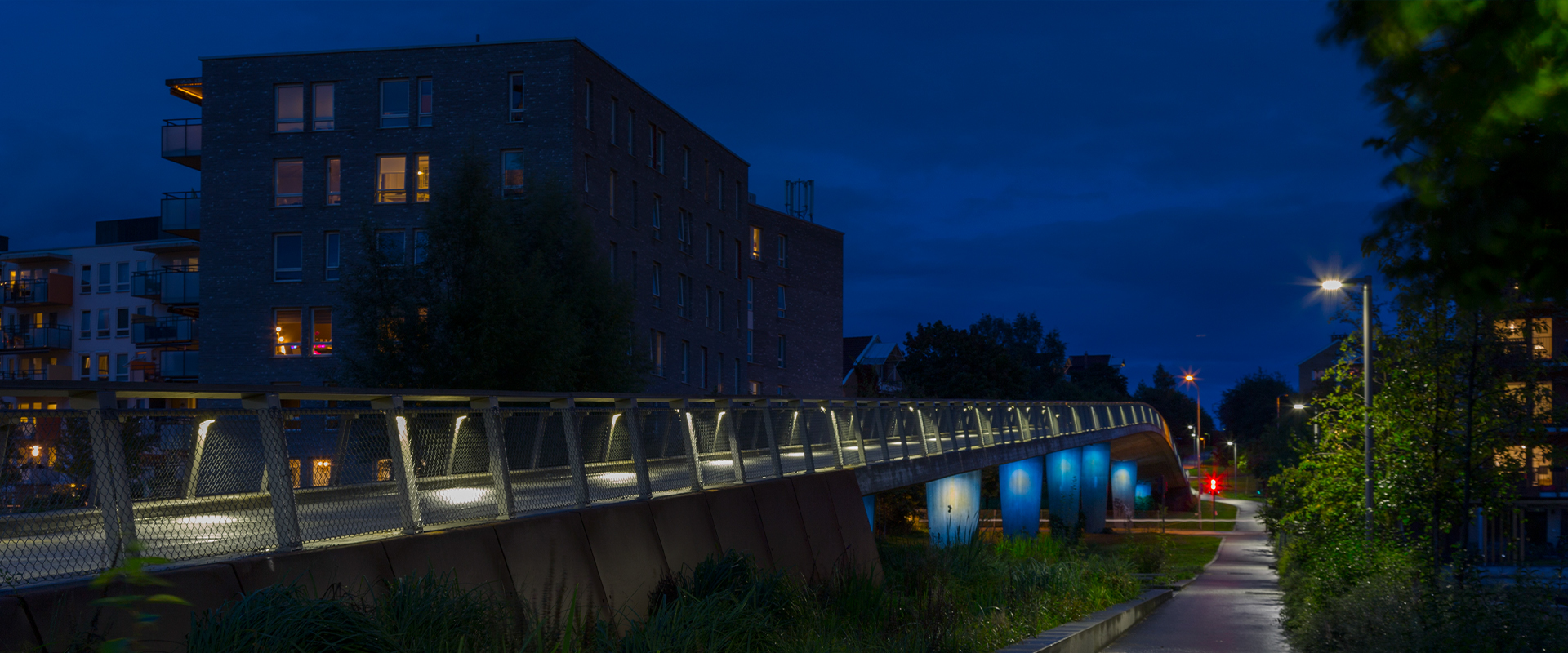 Lampioni LED parchi e giardini pubblici