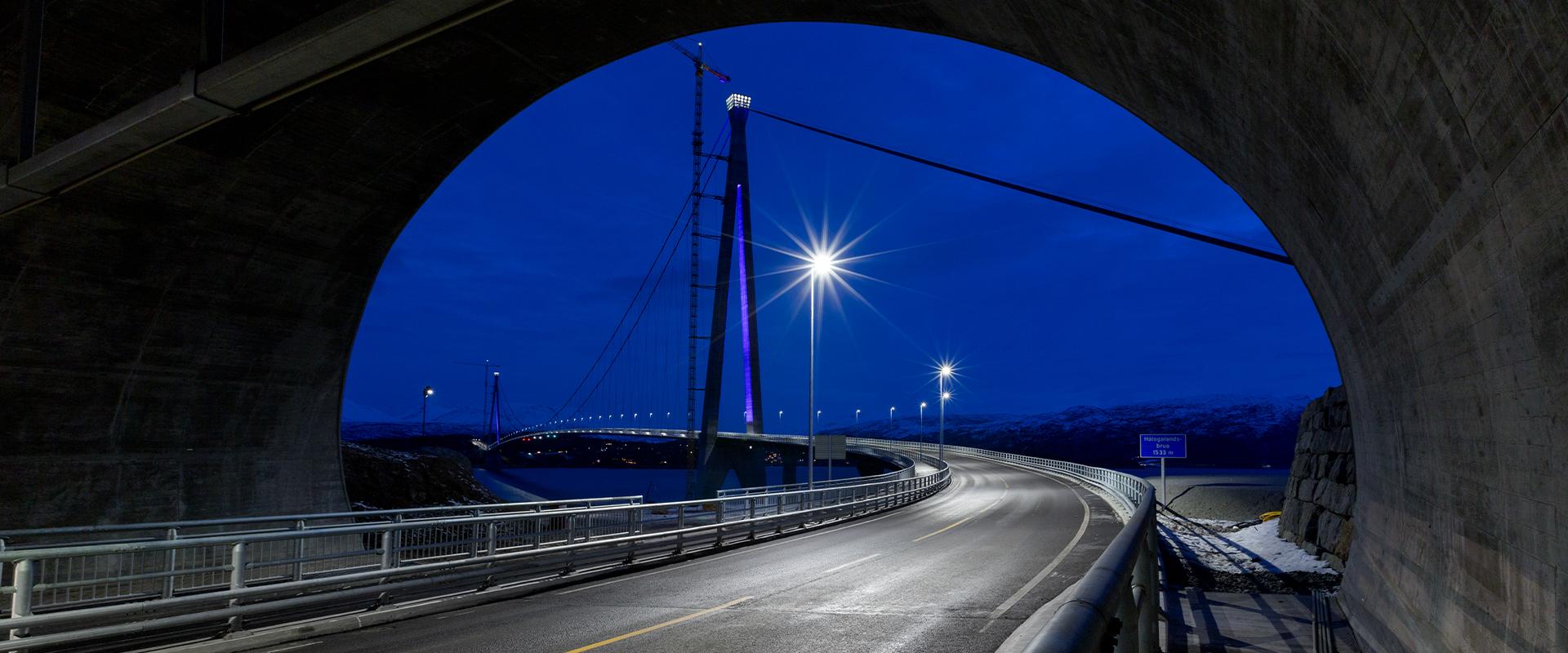 faro LED per illuminazione stradale