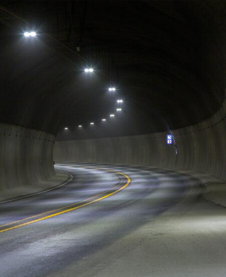 Illuminazione gallerie LED