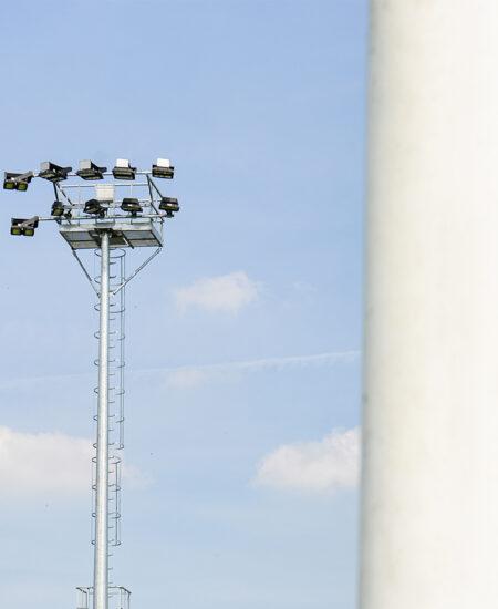 Proiettori LED per campi da calcio
